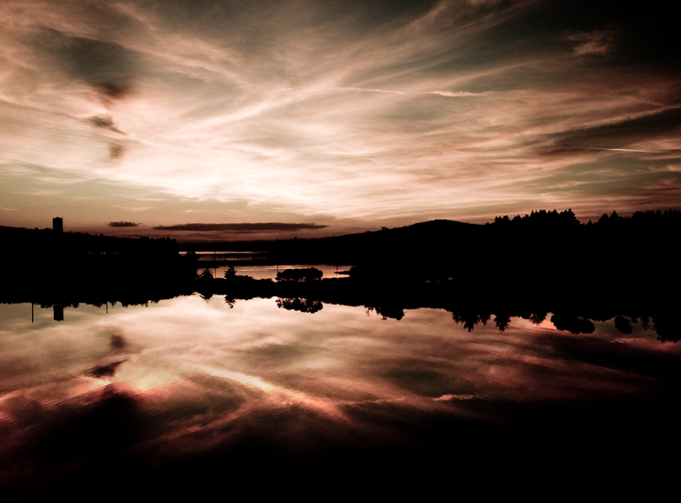SUNSET ON THE BASIN